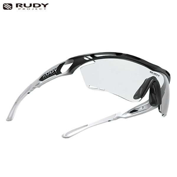 루디프로젝트 RUDY PROJECT/트랠릭스 그라데이션 블랙-화이트 커스텀 화이트/임팩트X 포토크로믹2 레이저블랙/SP397842-10-WT/TRALYX GRADATION/IMPACT X PHOTOCHROMIC2 LASER BLK
