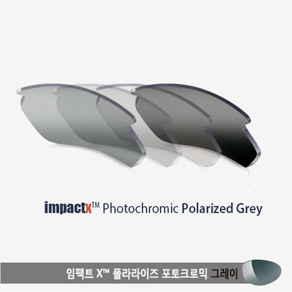 케티움 렌즈 임팩트X™ 폴라라이즈 포토크로믹 그레이 (변색편광)
