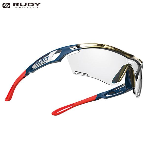 루디프로젝트 RUDY PROJECT/트랠릭스 그라데이션 골드-블루 커스텀 레드/임팩트X 포토크로믹2 블랙/SP397305-R1-RD/TRALYX GRADATION/IMPACT X PHOTOCHROMIC2 BLK