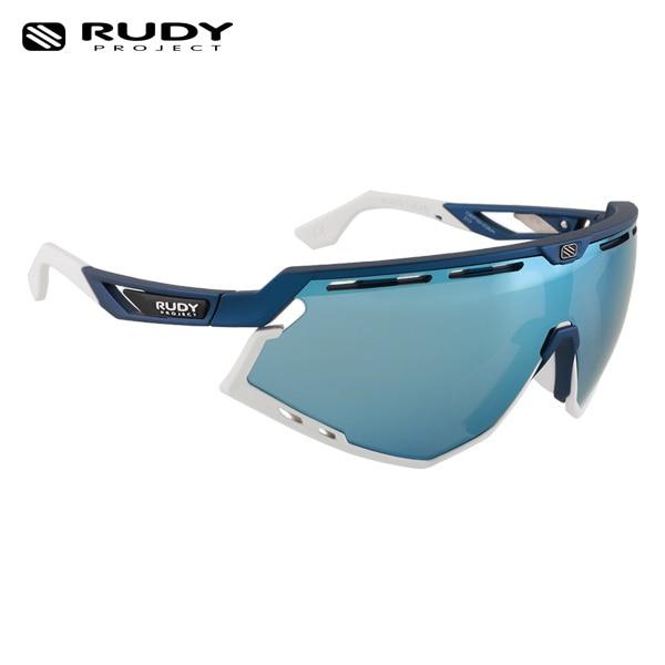 루디프로젝트 RUDY PROJECT/디펜더 블루 메탈_화이트 범퍼/멀티레이저 아이스 SP526851-0000/DEFENDER BLUE METAL MULTILASER ICE