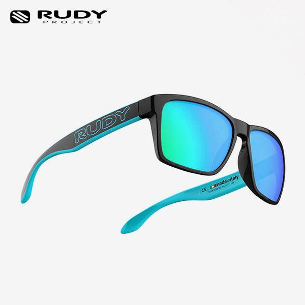루디프로젝트 RUDY PROJECT/스핀호크 아웃라인 크리스탈 메탈블랙 스카이_블랙/멀티레이저 아이스_SP716891-0M05 / SPINHAWK OUTLINE MULTILASER ICE