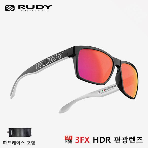 루디프로젝트 RUDY PROJECT/스핀호크 아웃라인 매트 블랙 화이트_블랙/폴라 3FX HDR 멀티레이저 레드 (편광) SP716206-0M01/SPINHAWK OUTLINE POLARIZED 3FX HDR MULTI LASER RED