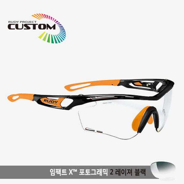 루디프로젝트 RUDY PROJECT/트랠릭스 블랙커스텀/임팩트X변색렌즈2레이저블랙/SP397842OR/TRALYX CUSTOM/IMPACT X PHOTOCHROMIC2 LASER BLK