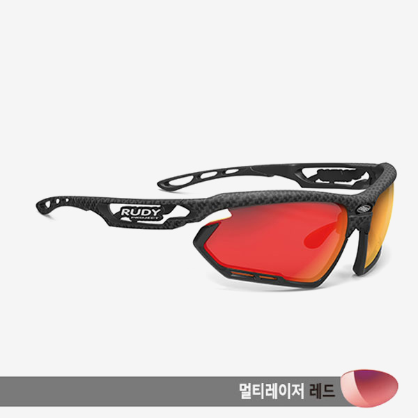 루디프로젝트 RUDY PROJECT/포토닉 카보니움_범퍼 블랙/멀티레이저 레드/SP453819-0000/FOTONYK CARBONIUM_BUMPER BLK/MULTI LASER RED