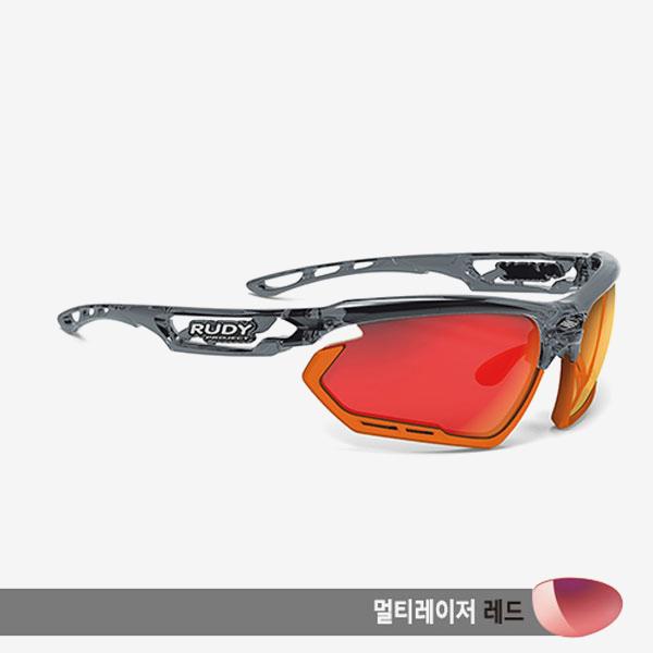 루디프로젝트 RUDY PROJECT/포토닉 크리스탈 그라파이트_범퍼 오렌지/멀티레이저 레드/SP453895-0003/FOTONYK CRYSTAL GRAPHITE_BUMPER ORANGE/MULTI LASER RED